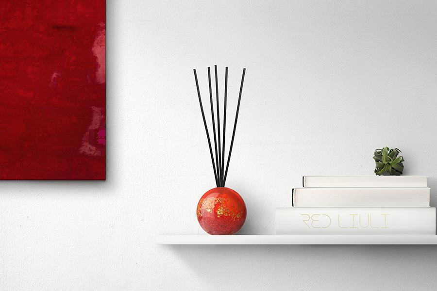紅琉璃 Red Liuli